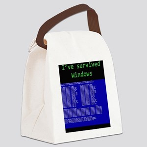 survived womdpw Canvas Lunch Bag
