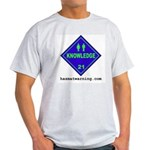 Knowledge Ash Grey T-Shirt