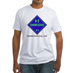 Knowledge Fitted T-shirt (Made in the USA)
