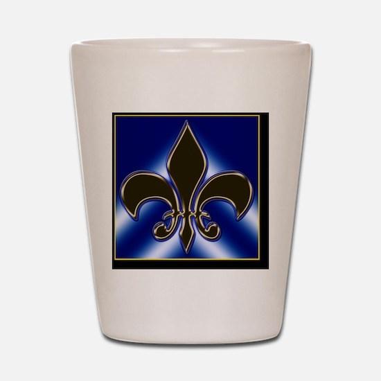 Fleur-de-lis Shot Glass