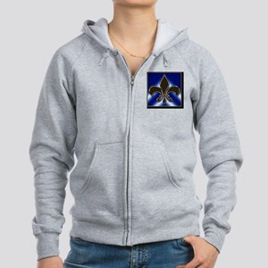Fleur-de-lis Women's Zip Hoodie