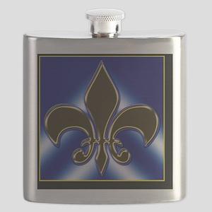 Fleur-de-lis Flask