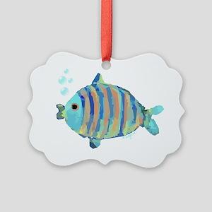 Big Fish Picture Ornament