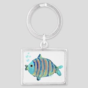 Big Fish Landscape Keychain