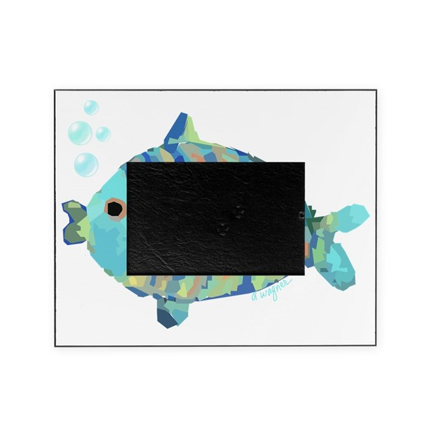 Big fish picture frame by admin cp36737570 for Fishing picture frame