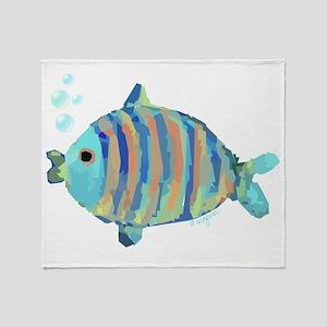 Big Fish Throw Blanket