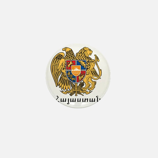 Armenia Emblem Mini Button