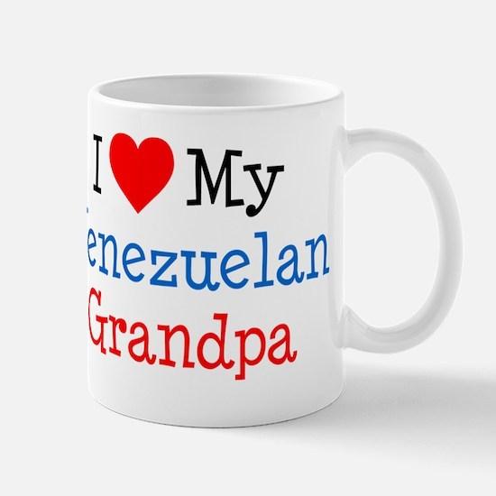 I Love Venezuelan Grandpa Mug