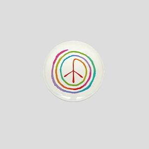 spiral-peace2-T Mini Button