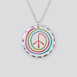 spiral-peace2-T Necklace Circle Charm