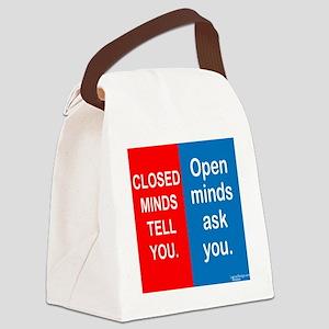 Minds Canvas Lunch Bag