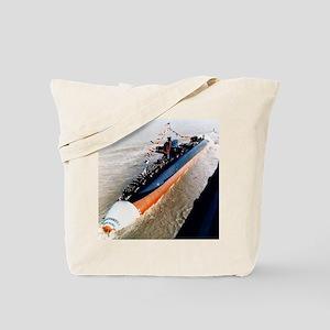 kamehameha ssbn framed panel print Tote Bag