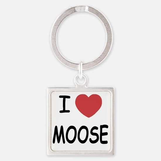 MOOSE Square Keychain