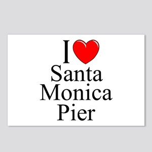 """I Love Santa Monica Pier"" Postcards (Package of 8"