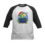 Joyful Noise Christmas Parrot Kids Baseball Jersey