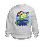 Joyful Noise Christmas Parrot Kids Sweatshirt