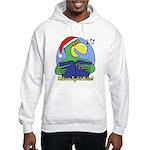 Joyful Noise Christmas Parrot Hooded Sweatshirt