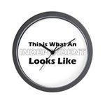 Independent Wall Clock