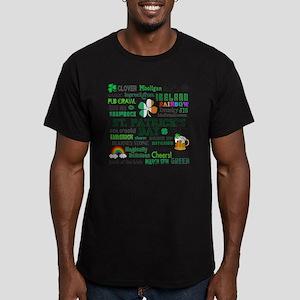 St Patricks Men's Fitted T-Shirt (dark)