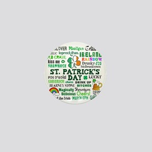 St Patricks Mini Button