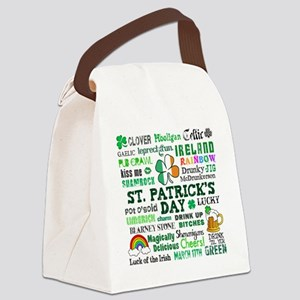 St Patricks Canvas Lunch Bag