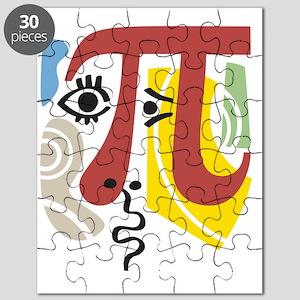 Pi Symbol Pi-Casso Puzzle