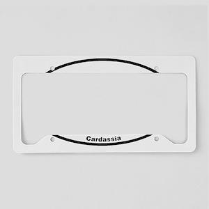 Euroval Cardassia License Plate Holder