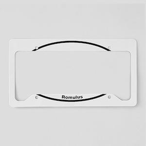 Euroval Romulus License Plate Holder