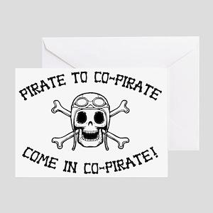 copirate-HAT Greeting Card