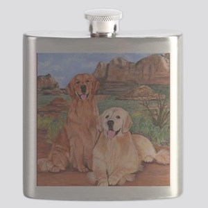 twodogs9x12h Flask