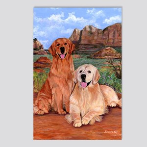 twodogs9x12h Postcards (Package of 8)