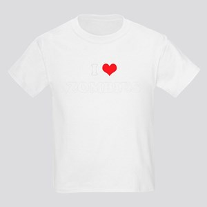 I Heart ZOMBIES Kids T-Shirt