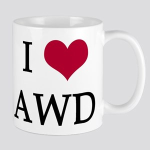 I Heart AWD Mug
