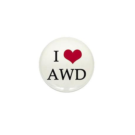 I Heart Mini Button (10 pack)