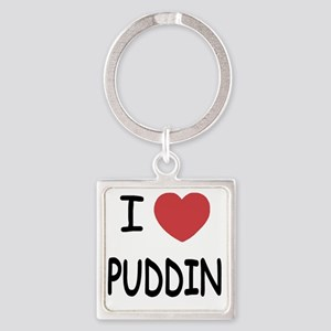 PUDDIN Square Keychain