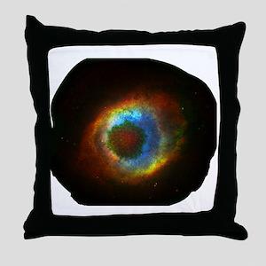 HSV in Eye nebula Throw Pillow