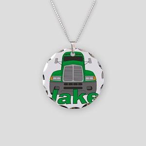 jake-b-trucker Necklace Circle Charm