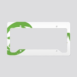 OrganicGreen2A License Plate Holder