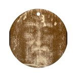 Shroud of Turin Ornament (Round)