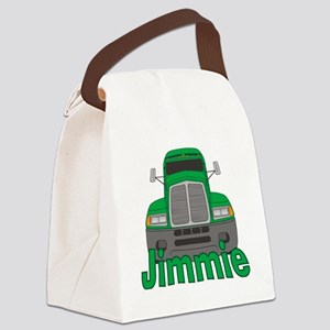 jimmie-b-trucker Canvas Lunch Bag