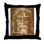 Shroud of Turin Throw Pillow