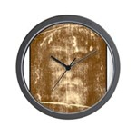 Shroud of Turin Wall Clock