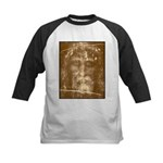 Shroud of Turin Kids Baseball Jersey