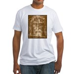 Shroud of Turin Fitted T-Shirt
