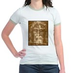 Shroud of Turin Jr. Ringer T-Shirt