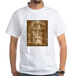 Shroud of Turin White T-Shirt
