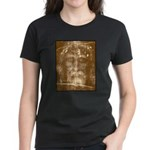 Shroud of Turin Women's Dark T-Shirt