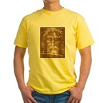 Shroud of Turin Yellow T-Shirt