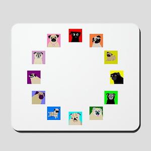 CircleOPugs Mousepad
