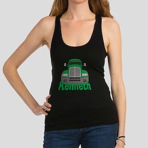 kenneth-b-trucker Racerback Tank Top